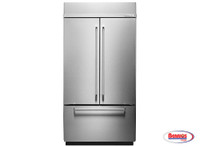 "66244 Kitchenaid | Nevera ""24.2 Cu. Ft. 42 Inch. Width Built-In Stainless French Door"""