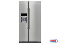 "65304 Kitchenaid | Nevera ""24.8 Cu. Ft. Standard Depth Side-by-Side with Exterior Ice and Water"""