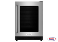 66263 Kitchenaid | Nevera 5.5' con Puerta de Cristal en Stainless Steel