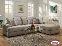 883 Emma Platinum Grey Sectional Living Room