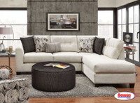 1515 Plushtones Linen Sectional Living Room