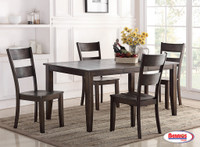 8204 Dark Chocolate Dining Room