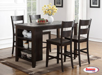 8204 Pub Table Dark Chocolate Dining Room