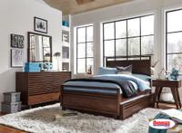 1010 Juvenil Chocolate Bedroom | Twin