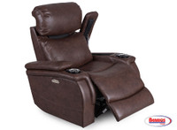 71193 Jazz Chocolate Power Recliner