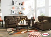 Combo 8 Pcs. | 95403 Dailey Chocolate Living Room