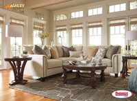 Combo 8Pcs   40700 Kieman Sectional Living Room