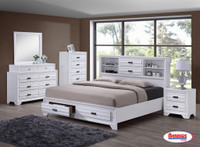 Combo 7 Pcs. Queen | 5236 White Bedroom