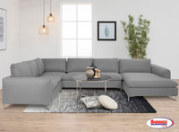 5382 Talida Light Grey Sectional Living Room