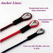 "Soft Lines 1/2"" Anchor Lines"