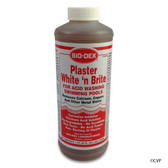 BIO-DEX CHEMICALS | 1 QUART PLASTER WHITE'N BRITE | WHITE AND BRITE | ACID WASH CHEMICAL | PWB32