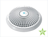 "AQUA STAR DRAINS | W/8"" WHITE RETROFIT MUD/FRAME 