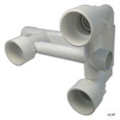 WATERWAYS | 3-JET MANIFOLD STRAINER BODY 9"
