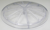 WET INSTITUTE | LID, CLEAR, 7 3/8 DIAMETER | 34-050-302