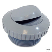 SUPER PRO | HYDROSTREAM SLOTTED GRAY, WALL RETURN EYE BALL FITTING | 25552-001-000