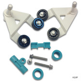 Hayward   AquaBug®   Diver Dave®   Wanda the Whale®   A-Frame Kit (Includes two A-frames and bushings, saddle, keeper, two hex head pod screws and two pod screw washers)   AXV621D