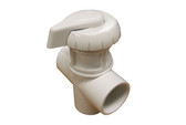 "Balboa Water Group | DIVERTER VALVE | 3-WAY FLOW 1"" SLIP X 1"" SLIP X 1"" SLIP - WHITE 