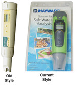 Hayward | AquaRite | AquaRite Pro | AquaPlus | Sense and Dispense | ProLogic | OnCommand | E-Command 4 | Aqua Trol | Salt Meter, handheld, digital | GLX-SALTMETER