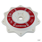 "Praher Canada Ltd | Cover Abs (white), 2"" Valve, w/O-Ring 