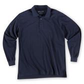 Tactical Jersey Polo - Long Sleeve - Dark Navy (724)
