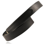 "1.5"" Velcro Tipped Leather Belt - Plain Leather"