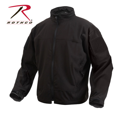 Rothco Covert Ops Lightweight Breathable Black Tactical Jacket