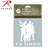 US Veteran Window Decal from Rothco