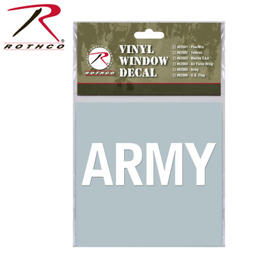 ARMY Window Sticker from Rothco
