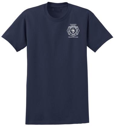 Custom Short Sleeve T-Shirt - Navy