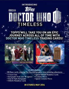 Doctor Who Timeless Sell Sheet
