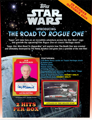 Star Wars Road to Rogue One Sell Sheet