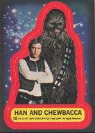 1977 Topps Star Wars Series 2 Sticker Set (11)