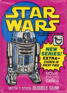 1977 Topps Star Wars Series 3 Wrapper