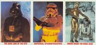 1980 Burger King Empire Strikes Back Card Set (12x3)
