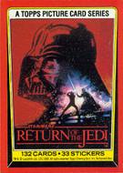 1983 Topps Return of the Jedi Series 1 Card Set (132)