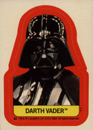 1983 Topps Return of the Jedi Series 2 Sticker Set (22)