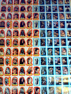 1983 Topps Return of the Jedi Series 2 Sticker Uncut Sheet (132)