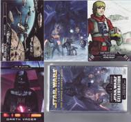 2015 Topps Star Wars Illustrated: Empire Strikes Back Mini Master Set (148)