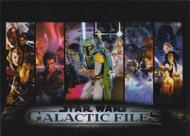 2013 Topps Star Wars Galactic Files Series 2 Set + 2 Chase Sets (367)