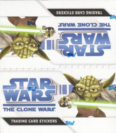 2008 Topps Star Wars Clone Wars Stickers Factory Sealed Case