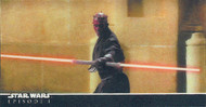 1999 Topps Star Wars The Phantom Menace Episode 1 3D Widevision Master Set (49)