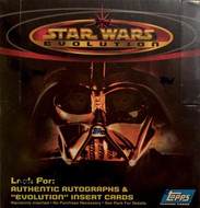 2001 Topps Star Wars Evolution Unopened Box