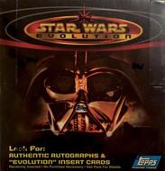 2001 Topps Star Wars Evolution Unopened Box