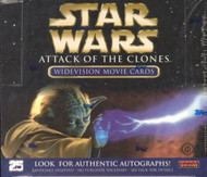 2002 Topps Star Wars Attack of the Clones Widevision Unopened Box