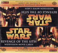 2005 Topps Star Wars Revenge of the Sith Widevision Unopened Box