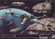 2015 Topps Star Wars Illustrated: Empire Strikes Back Purple Parallel Set (100)