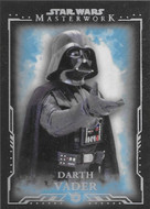 2015 Topps Star Wars Masterwork Complete 75 Card Blue Parallel Set