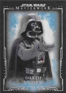 2015 Topps Star Wars Masterwork Complete 75 Card Blue Parallel Set
