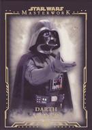 2015 Topps Star Wars Masterwork Complete 75 Card Gold Parallel Set