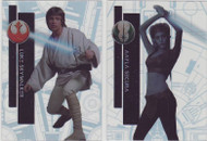 2015 Topps Star Wars High Tek Complete 112 Card Set - Pattern 2